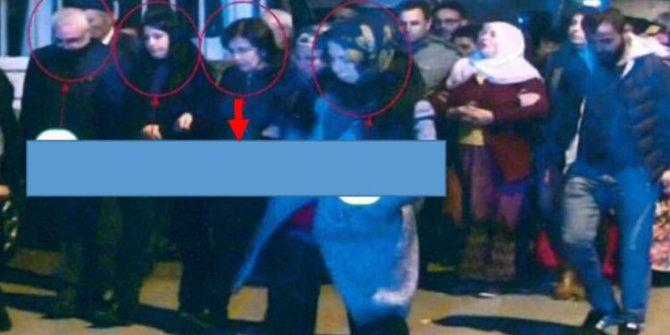 HDP'li o isim Eren Bülbül'ü şehit eden teröristin cenazesine katılmış