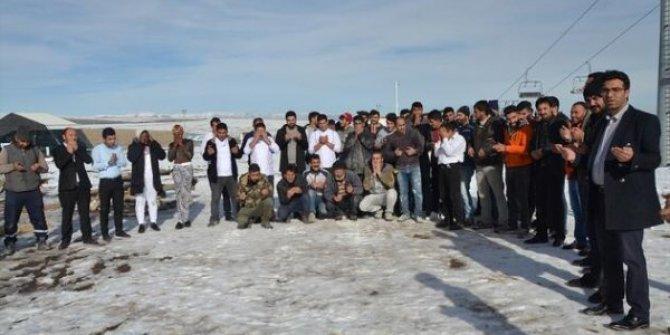 Cıbıltepe'de kar duası