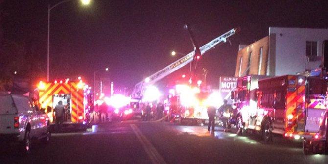 Las Vegas'ta motelde yangın: 6 ölü, 13 yaralı