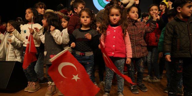 Türkmen çocuklar Etimesgut'ta buluştular