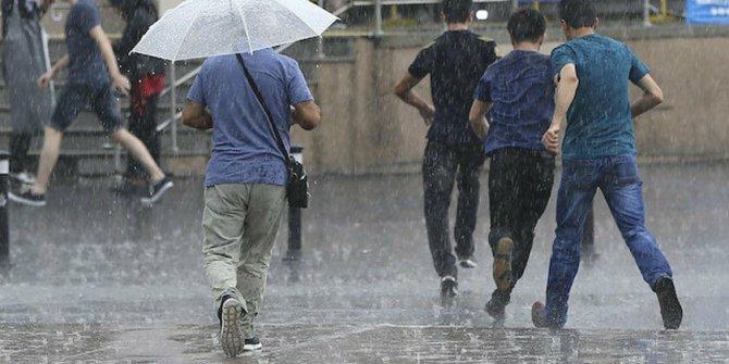 46 ile yağış uyarısı yapıldı