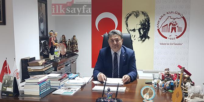 """""""Atatürk'ün Ankara'ya gelişinin 100'üncü yılını hep birlikte kutlayalım"""""""