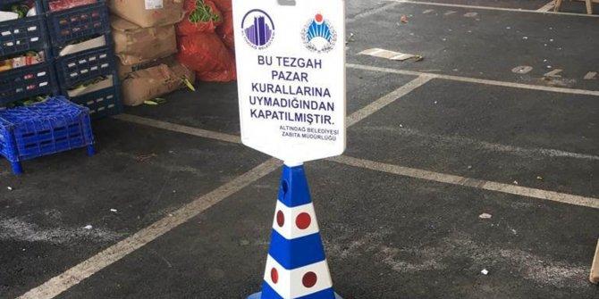 Altındağ'da kaba üsluba tezgah kapama
