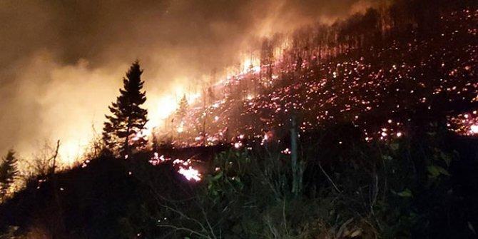 Kriz merkezi oluşturuldu! 10 ilçede 22 yangın