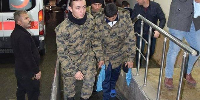 74 asker hastaneye kaldırıldı, valilikten açıklama geldi