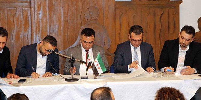 Gaziantep'te 'Suriye Platformu' kuruldu