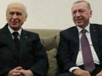 Cumhurbaşkanı Erdoğan ile MHP Genel Başkanı Bahçeli görüştü