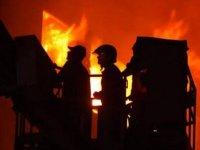 Rusya'da yangın dehşeti