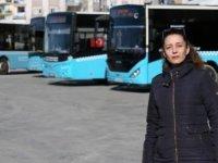 Antalya'da kadın şoförlerden tuvalet tepkisi