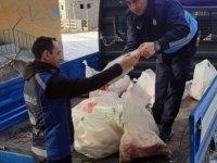 Altındağ'da kaçak kasaba operasyon