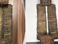 Bursa'da tarihi 'Tevrat' ele geçirildi: 1 gözaltı