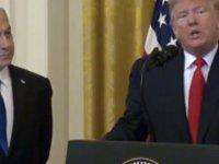 Trump 'Yüzyılın Anlaşması' adını verdiği planını açıkladı