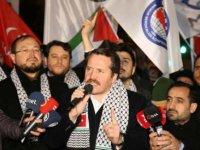 Sözde Orta Doğu barış planına İstanbul ve Ankara'da büyük protesto