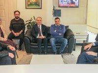 BİK Genel Müdürü Duran'dan deprem bölgesindeki gazetelere ziyaret