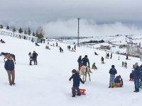 Elmadağ Kayak Merkezi yolu karlar eriyince yapılacak