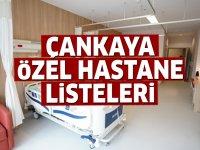 Çankaya Özel Hastane Listesi...Çankaya'daki Özel Hastanelerin Adresleri ve Telefonları 2020