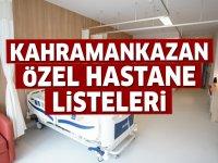 Kahramankazan Özel Hastane Listesi...Kahramankazan'daki Özel Hastanelerin Adresleri ve Telefonları 2020