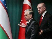 Cumhurbaşkanı Erdoğan'dan iş dünyasına Özbekistan çağrısı