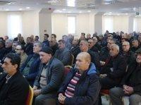 Polatlı'da çiftçiler bilgilendiriliyor