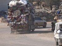 Esed ve destekçilerinin hedefindeki ilçede göç yolculuğu başladı
