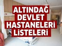 Altındağ Devlet Hastaneleri Listesi.. Altındağ'daki Devlet Hastanelerinin Adresleri ve Telefonları 2020
