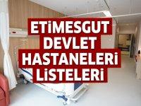 Etimesgut Devlet Hastaneleri Listesi.. Etimesgut'taki Devlet Hastanelerinin Adresleri ve Telefonları 2020