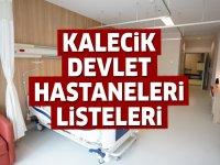 Kalecik Devlet Hastaneleri Listesi.. Kalecik'teki Devlet Hastanelerinin Adresleri ve Telefonları 2020