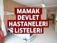 Mamak Devlet Hastaneleri Listesi.. Mamak'daki Devlet Hastanelerinin Adresleri ve Telefonları 2020