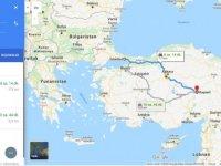 İstanbulKayseriarası kaç km? İstanbulKayseriarası kaç saat? İstanbul'danKayseri'ye nasıl gidilir?
