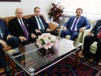 ANKESOB Başkanı Yiğiner'e Vergi Haftası ziyareti