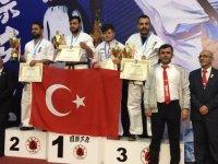 Pursaklar Belediye Spor Kulübü sporcuları ilk kez Avrupa şampiyonu oldu