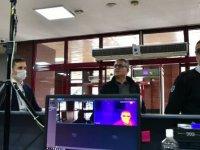 Mamak Belediyesi hizmet binasına termal kamera yerleştirdi