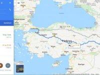 İstanbul Van arası kaç km? İstanbul Van arası kaç saat? İstanbul'dan Van'a nasıl gidilir?