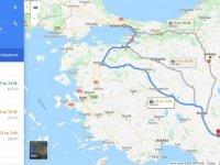 İstanbul Karaman arası kaç km? İstanbul Karaman arası kaç saat? İstanbul'dan Karaman'a nasıl gidilir?