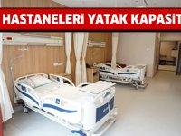 Şehir Hastanelerinin yatak kapasiteleri, Şehir Hastaneleri yatak kapasitesi kaç?