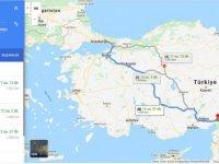 İstanbul Osmaniye arası kaç km? İstanbul Osmaniye arası kaç saat? İstanbul'dan Osmaniye'ye nasıl gidilir?