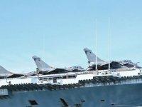 Fransa'nın Atlantik'teki uçak gemisi Charles de Gaulle'de Kovid-19 tespit edildi