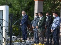 Kaymakam Aksoy ile Başkan Acar, şehitliklere ziyaret etti