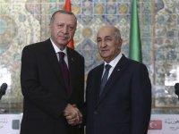 Cumhurbaşkanı Erdoğan Cezayir Cumhurbaşkanı Tebbun ile telefonda görüştü