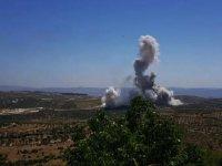 İdlib'de TSK konvoyunun geçişi esnasında patlama