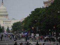 Beyaz Saray George Floyd protestoları nedeniyle tecrit altına alındı