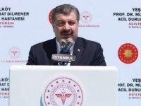 Sağlık Bakanı Koca: Acil durum hastanelerimiz Türkiye için zorunlu projelerdir