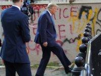 Trump, protestolara müdahale için ağır silahlı asker görevlendirdi