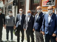 BİK'ten gazetemize nezaket ziyareti