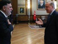 Erdoğan ile Sarrac arasındaki Libya Zirvesi başladı