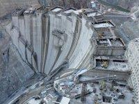 Yusufeli Barajı'nda beton gövdenin yüzde 75'i tamamlanıyor