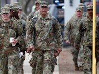 ABD'de 43 bin ulusal muhafız görevlendirildi