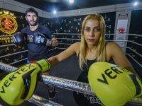 Azerbaycanlı şampiyon kick boksçu Bahram'ı, Glory'e Türk eşi Nehir hazırlıyor