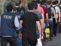 Gaziantep merkezli FETÖ/PDY operasyonunda yakalanan 33 şüpheli adliyede