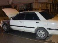Sultanbeyli'de park halindeki otomobil kundaklandı